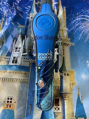 NEW DISNEY PARKS 20,000 Leagues Under The Sea Nautilus Blue Magicband 2