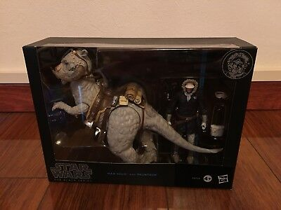 star wars the black series 6 inch han solo and tauntaun