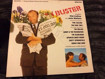 Phil Collins Hand Signed Buster LP Genuine Authentic