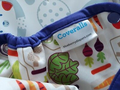 Blueberry Coverall Nappy Wrap Birth To Potty