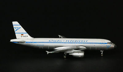 """Condor Airbus A320 """"RETRO"""" 1:400 JC Wings Neues Modell / 1/400 Mint condition"""