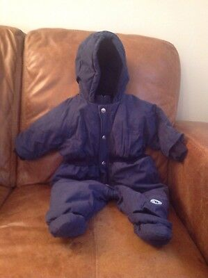 Baby Dior 6mths Snow Suit Blue RRP £275