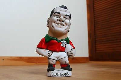 Genuine Welsh Rugby Player Hollow Grogg - Ieuan Evans No.14