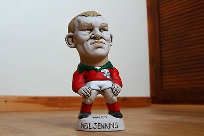 Genuine Welsh Rugby Player Hollow Grogg - Neil Jenkins No.10