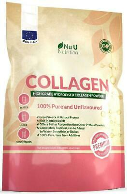 Collagen Powder 600g Protein High Grade Unflavoured Hydrolysed 100% Pure Bovine