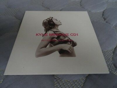 Kylie Minogue Put Yourself In My Place 4 Trk Cd Card Sleeve Rare Golden Dancing