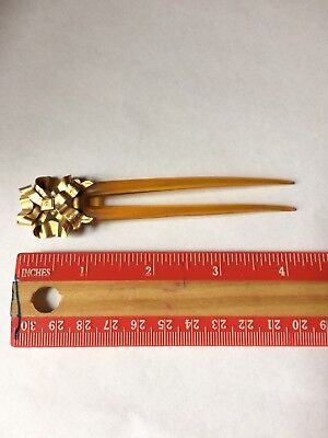 Antique Art Deco or Victorian Hair Comb Bun Holder