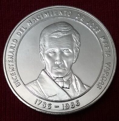 $AUCTION$ Silver Coin 1986 Venezuela 100 Bolivares MS UNC Y#60 Dollar