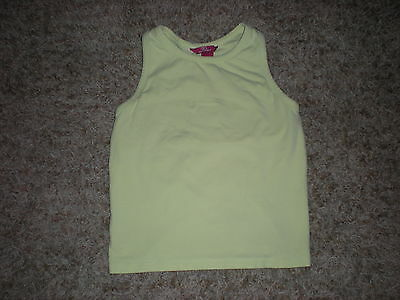 Girls Tank Top Racerback Racer Back So... Size X-Large 16 XL Light Green Clothes