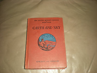 Vintage Antique & Collectibles Book Earth and Sky 1937 Hardcover Nature Book 4