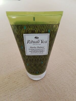"ORIGINS ""Rituali Tea Matcha Madness"" Revitalizing Cleansing Body Mask 150ml New"