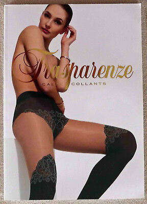 Catalogue Grand Format Lingerie Trasparenze 2018 34x24 NEUF