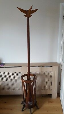 LOVELY RETRO HAT/BROLLY STAND 1960s