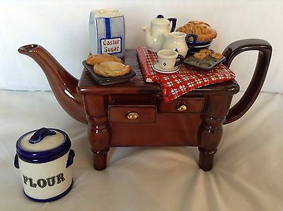 Cardew Large Novelty Collectable Pasty&jam Tarts Baking Table Perfect Condtion