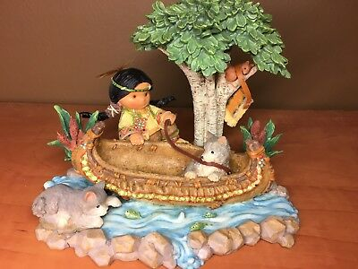 Friends of the Feather - Build Your Own Journey Boy in Canoe Limited - Enesco