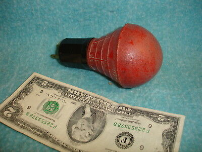 VINTAGE, RARE CAMERA FILM DARK ROOM LIGHT, BW TWO-LITE, RED, 7 1/2 W bulb, works