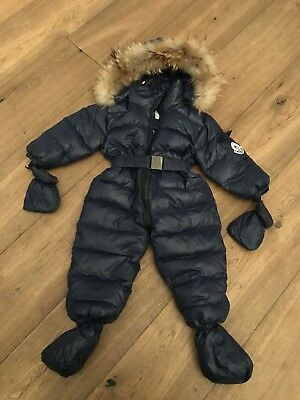 Kids/toddler Snow Suit 2-3 With Moncler Badge
