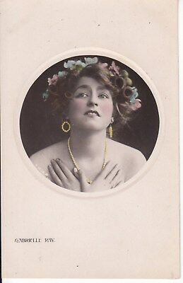 Vintage Postcard, Gabrelle Ray Early 1900s Super Model (a) Postage combined.