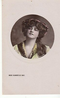 Vintage Postcard, Gabrelle Ray Early 1900s Super Model (s) Postage combined.