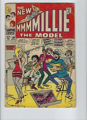 Millie The Model #164 Marvel Silver Age Comic Book