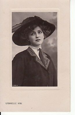 Vintage Postcard, Gabrelle Ray Early 1900s Super Model (j) Postage combined.