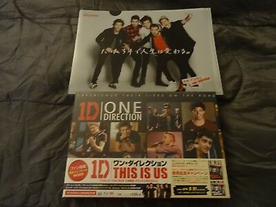 One Direction Japanese Box Set This Is Us Promo Folder 2 Cds Harry Liam Louis