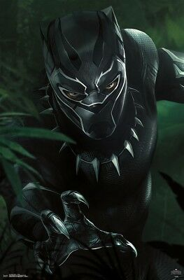 BLACK PANTHER MOVIE - T'CHALLA POSTER - 22x34 - 15237