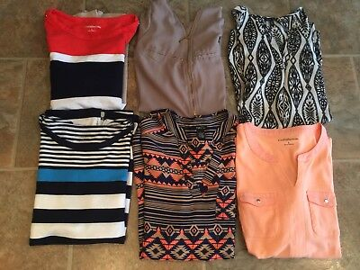 Lot Of Womens Spring Shirts 💟💟 All Size Large Regular or Juniors XL