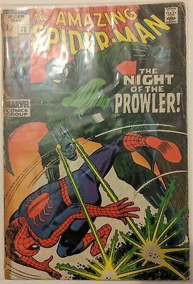 Marvel Amazing Spider-Man 78 (1st appearance of the Prowler)