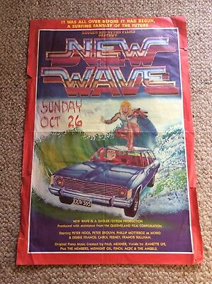 Surf Movie Poster ....NEW WAVE