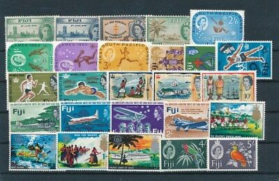 [G83610] Fiji good lot Very Fine MNH stamps