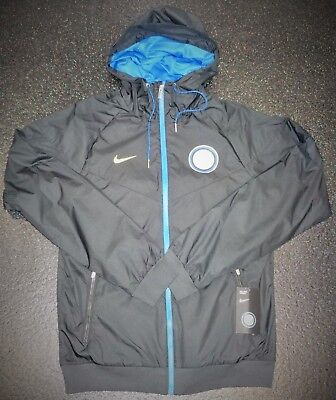 BNWT Inter Milan Internazionale Authentic Windrunner Jacket - Small