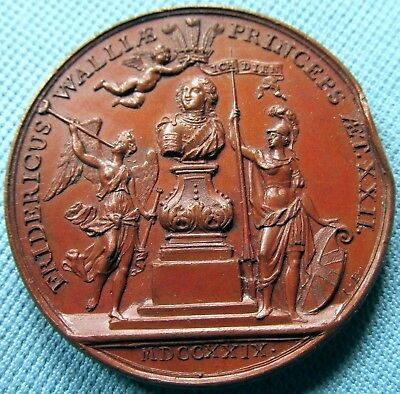 1729 Frederick Prince of Wales Investiture Medal - Father of King George III