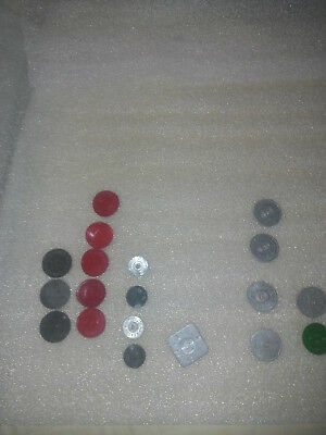 lot of Very Early State Sales Tax Tokens Metal and plastic Missouri Kansas Ok.