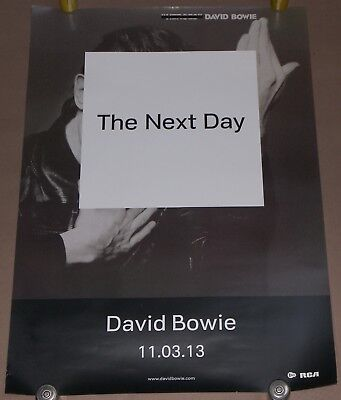 David Bowie The Next Day Large UK Promo Poster 70 cm x 50 cm  27 inch x 20 inch