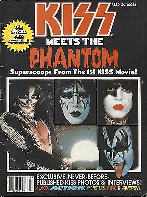 KISS MEETS THE PHANTOM Magazine