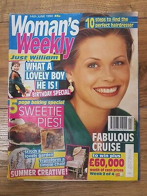 Woman's Weekly Vintage Magazine - 14th June, 1994