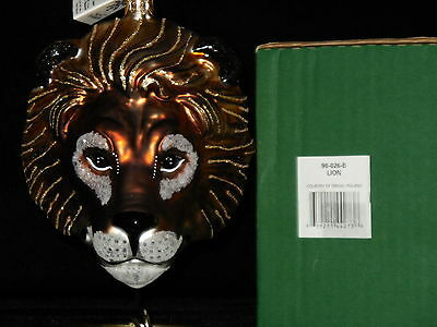 "Slavic Treasures Ornament ""Lion"" NIB #98-026-B"