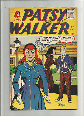Patsy Walker #77 by Stan Lee & Al Hartley. features Kid Colt.!! from 1958.!!