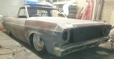 XT Ford Falcon UTE custom unfinished project car with Air Bags