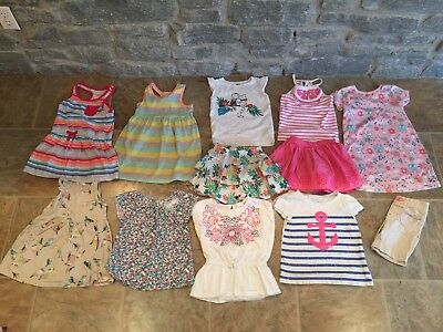 Lot Of Girls Size 4t Spring Summer Clothing💕💕💕 Gymboree Etc Various Brands