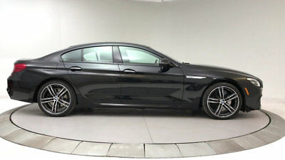 2018 BMW 6-Series 650i Gran Coupe 650i Gran Coupe 6 Series New 4 dr Automatic Gasoline 4.4L 8 Cyl Black Sapphire M