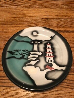 tepco china, 9 1/2 Inch Confucius Plate