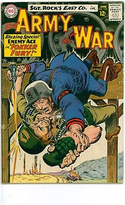 LOT OF DC WAR COMICS -OUR ARMY at WAR#155,161-MEN of WAR#91-FIGHTING FORCES