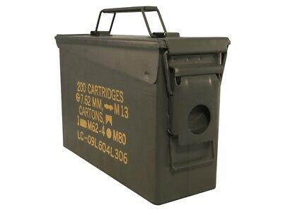 8-Pack-30-Cal-Ammo-Can-Box-Army-Military-M19A1 Grade 1