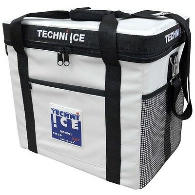 TECHNI ICE Cooler Bag 34L Heavy Duty Insulated + 3x FREE Reusable Ice Packs