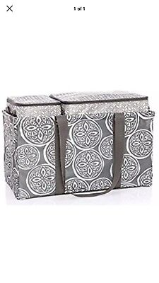 THIRTYONE Gifts Tote N' Chill Trio BRAND NEW Woodblock Whimsy.