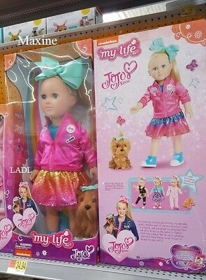 JOJO SIWA My Life As 18 Doll Plush Dog Nickelodeon Girl BowBow walmart exclusive