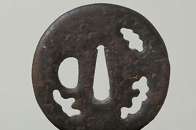 EDO PERIOD SHOAMI-TSUBA 正阿弥 Antique Japanese Sword Katana Wakizashi Koshirae
