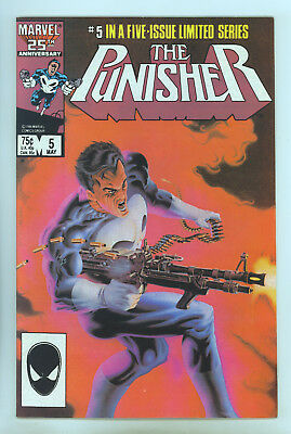 Punisher (1986 Limited Series) #5 VF- Zeck, Beatty